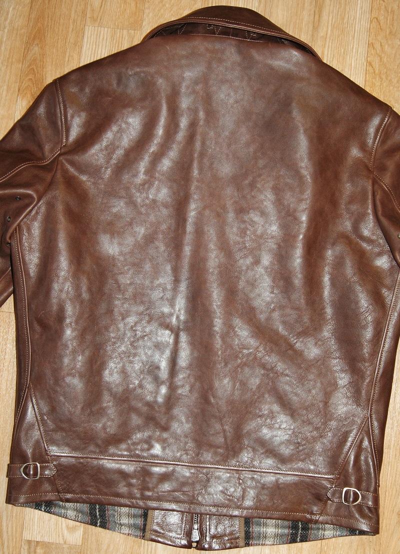 Thedi Zip-Sleeve Shawl Collar Jacket Espresso Buffalo back.jpg