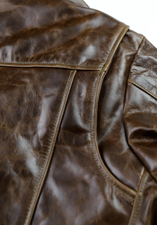 Vanson Daredevil XXL Dark Maple Bainbridge M89 Shoulder Gusset.jpg