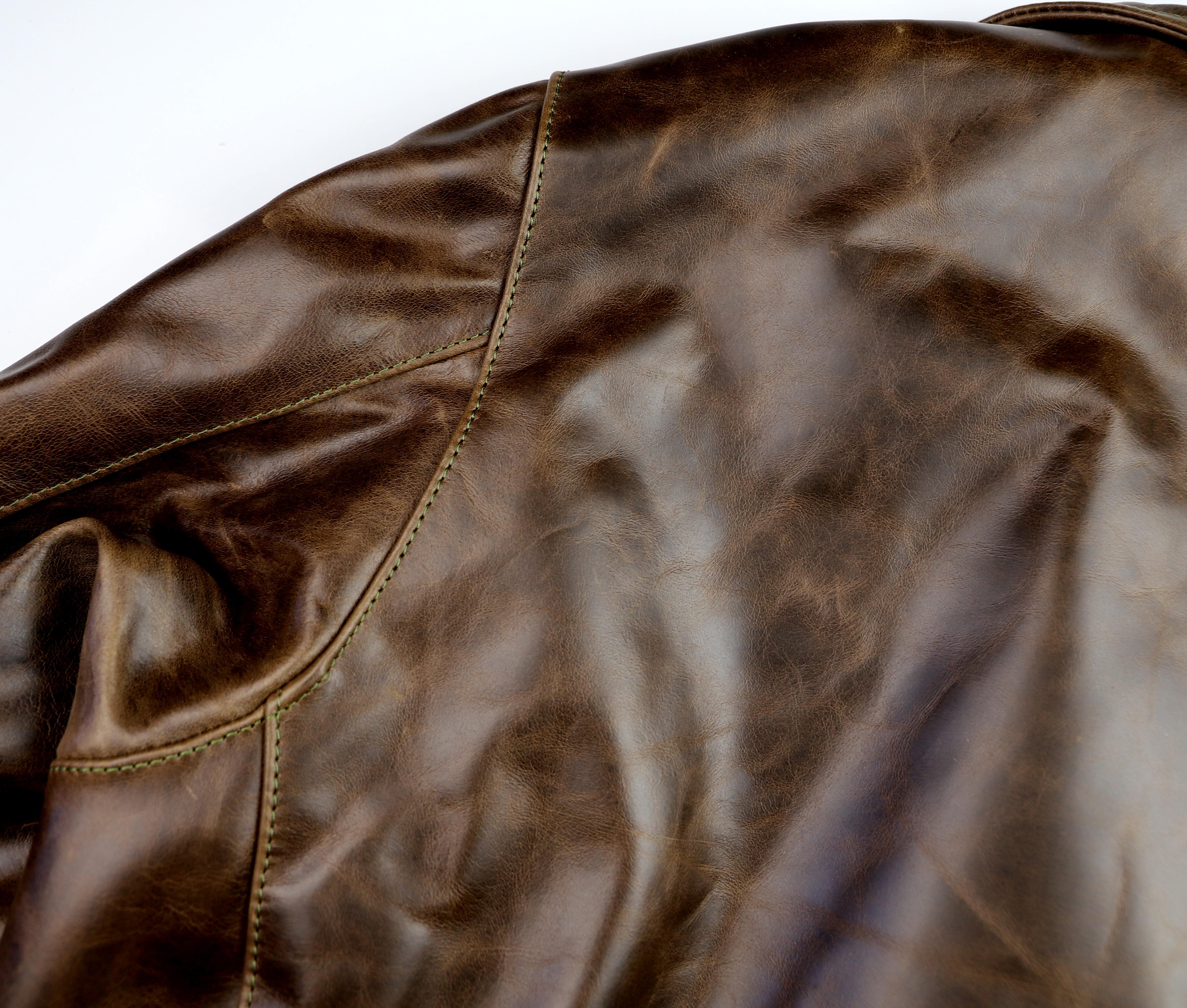 Vanson Gambler Dark Maple Bainbridge 44KJ upper back.jpg