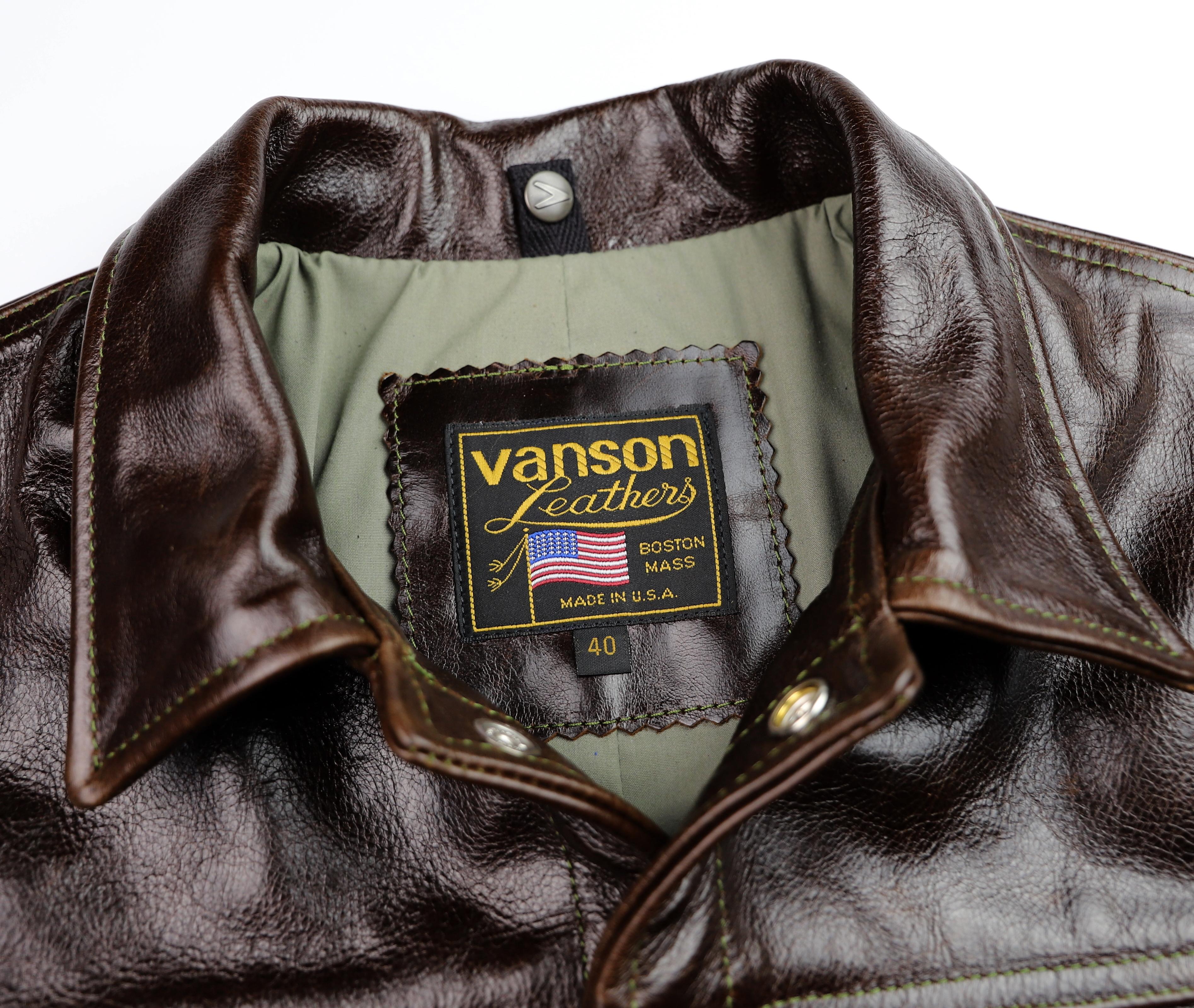 Vanson Maverick Dark Hickory Vancouver 40 tag.jpg