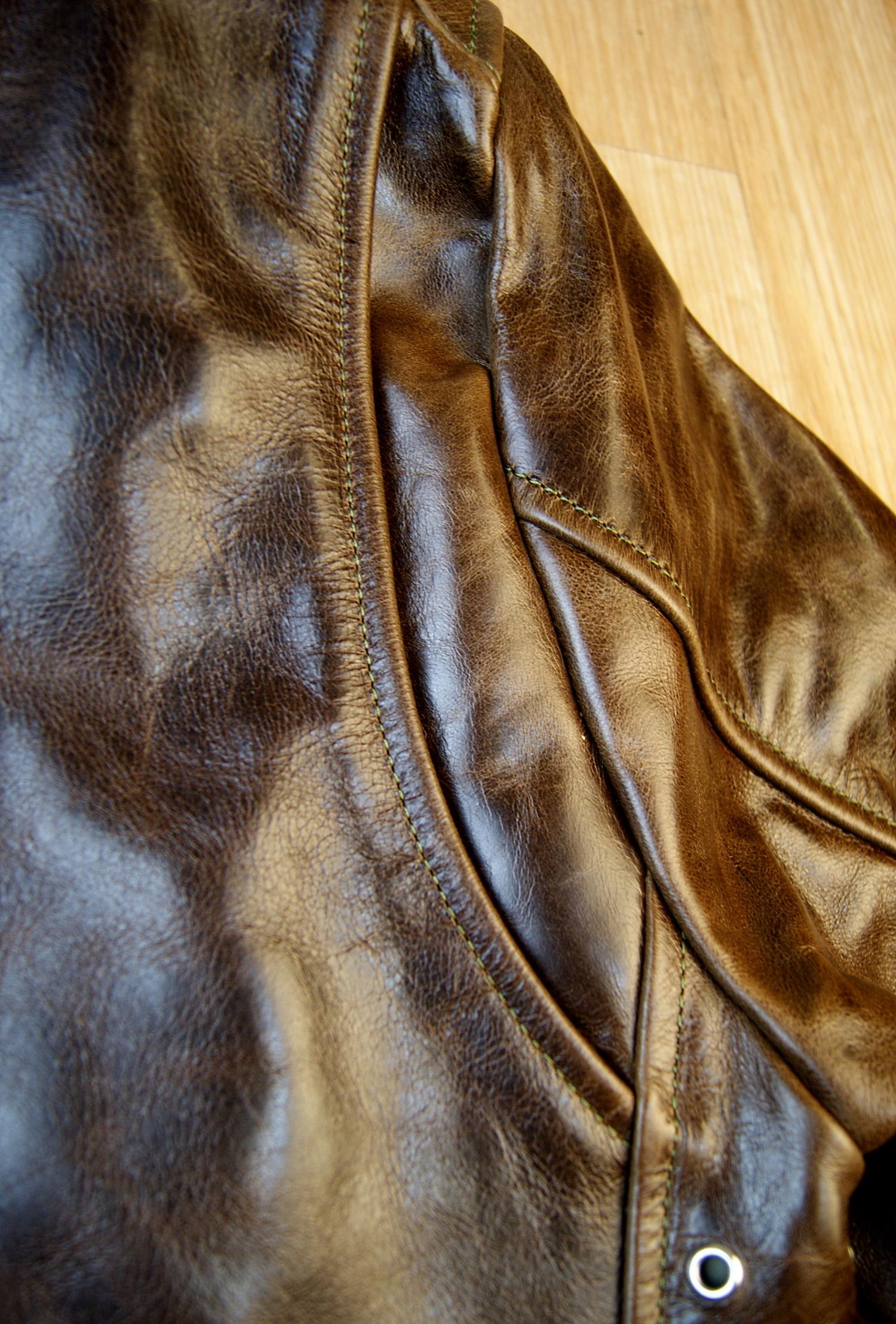 Vanson Portland Dark Maple Bainbridge CJS shoulder gusset.jpg