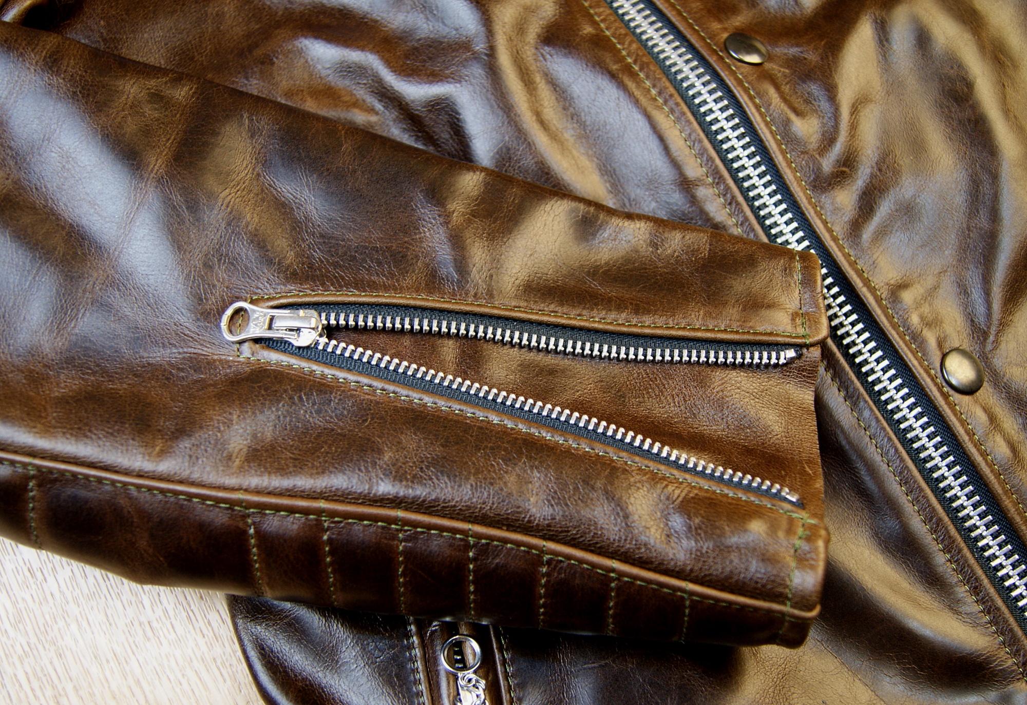 Vanson Portland Dark Maple Bainbridge CJS sleeve zip.jpg