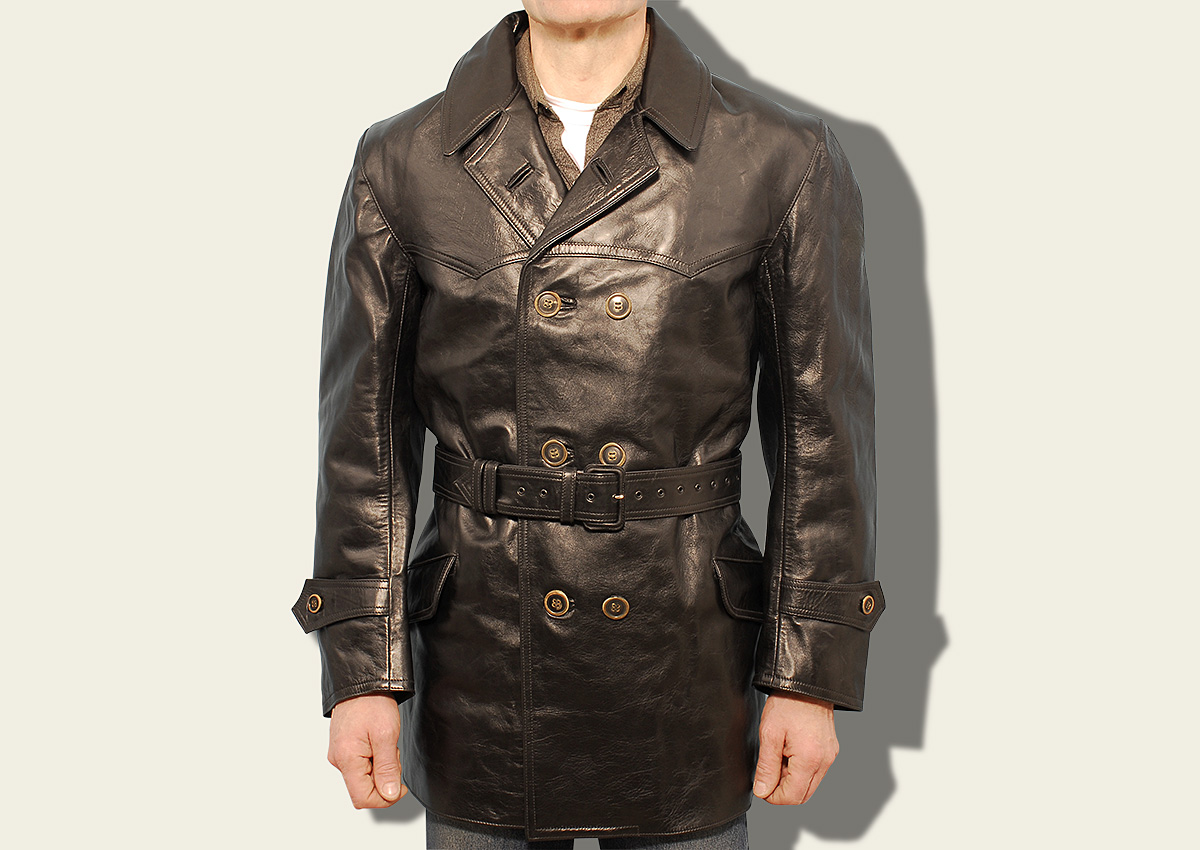 Eastman Leather Clothing WWI Imperial German Aviator Flying Coat ...